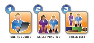 AHA BLS Online Course Icon