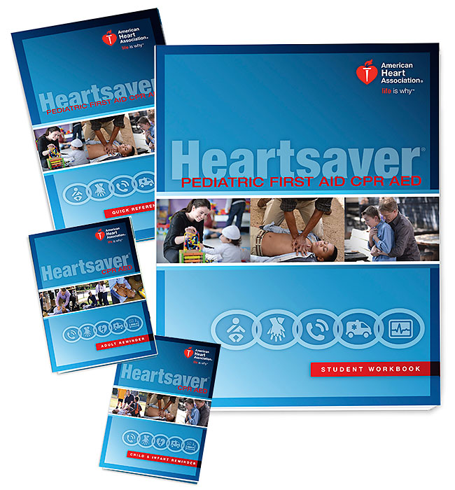 Heartsaver Pediatric 1st Aid CPR/AED Manual