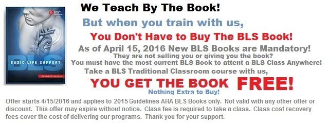 BLS Book Offer