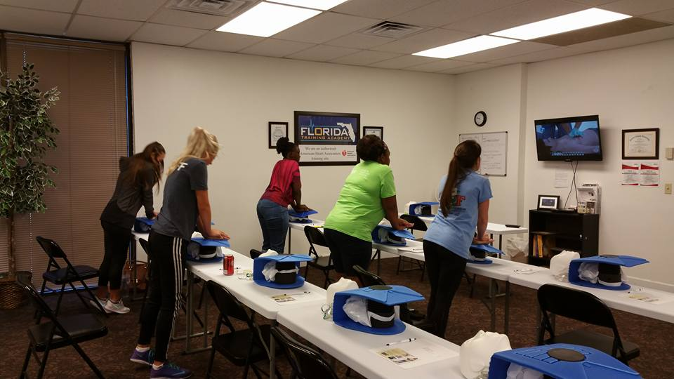 CPR, BLS, ACLS, First Aid and OSHA workplace safety training classes in Jacksonville