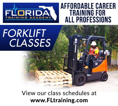 forklift operator classes for beginners in jacksonville florida
