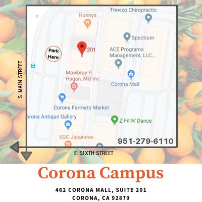 HealthPro Corona - Map