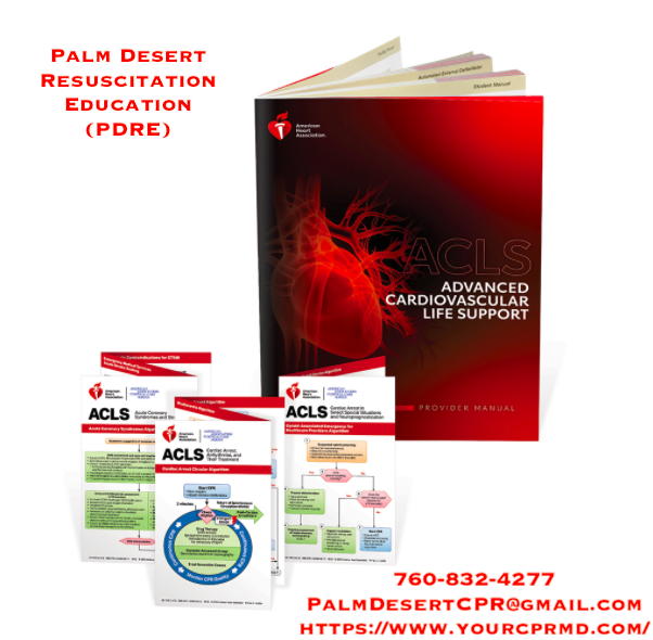 ACLS for Healthcare Providers - PDRE LLC - YourCPRMD.Com